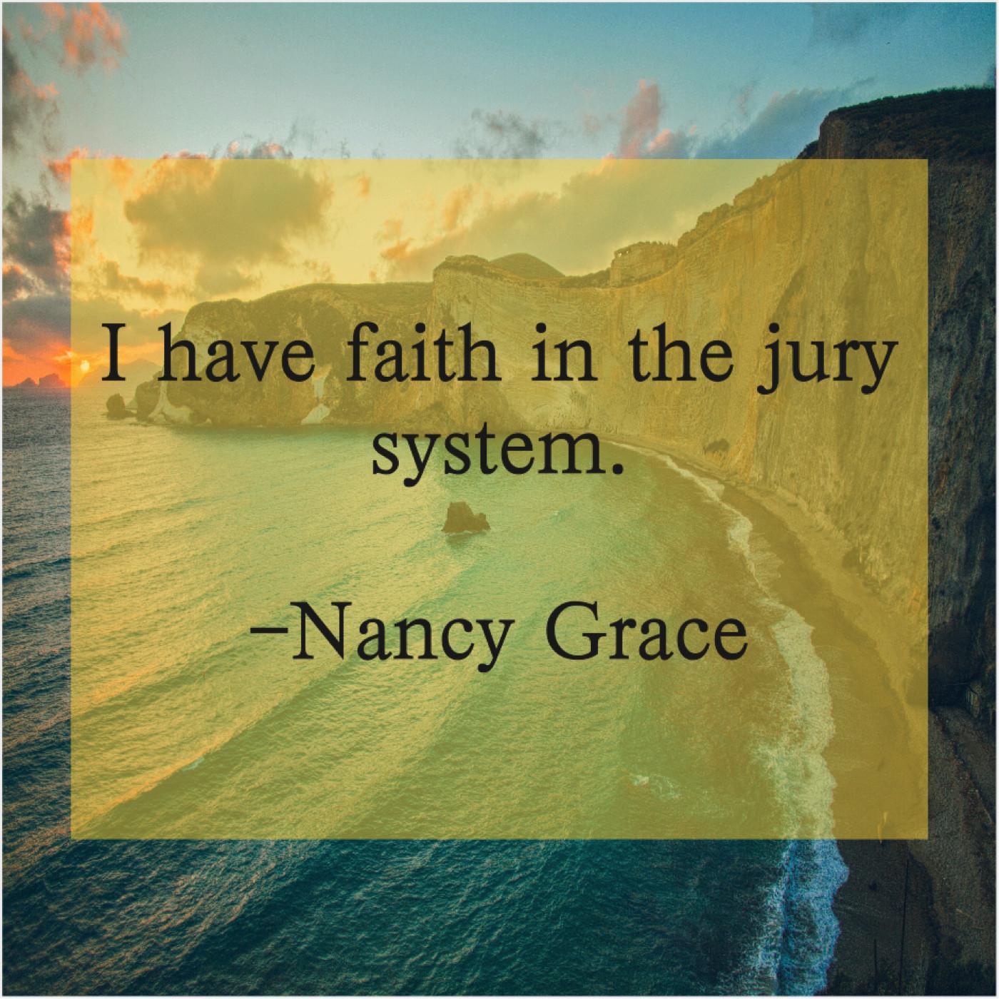 Nancy Grace – CFAME Quotes